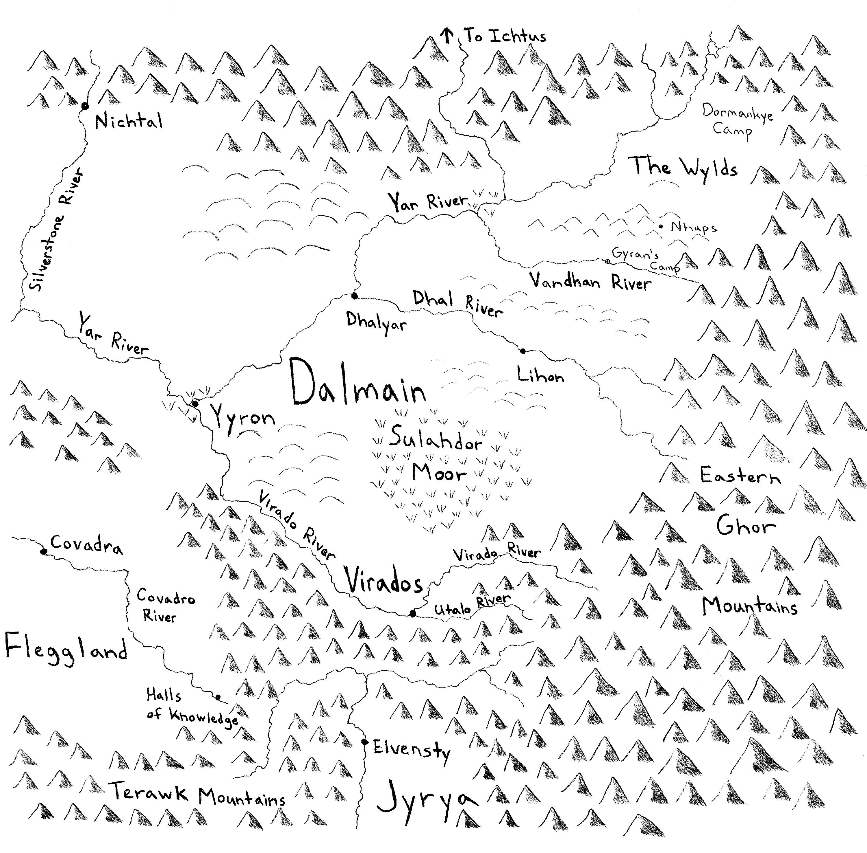 Map of Dalmain